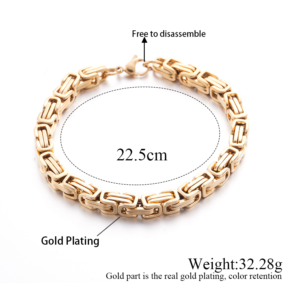 6 Wellingsale 14k Two 2 Tone White and Yellow Gold Polished Stampato ID Bracelet