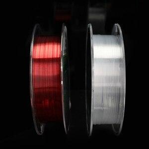 Image 4 - 100 m Nylon ligne de pêche Super forte Nylon/Monofilament ligne matériel japonais fil pour carpe fil de pêche/cordon/chaîne 4 ~ 15LB
