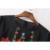 2017 Primavera Preto/Branco Bordado Floral Blusa Manga Comprida O Pescoço Peplum Tops Hem Ruched Pulôver Camisas Das Mulheres Da Marca CCWM8182