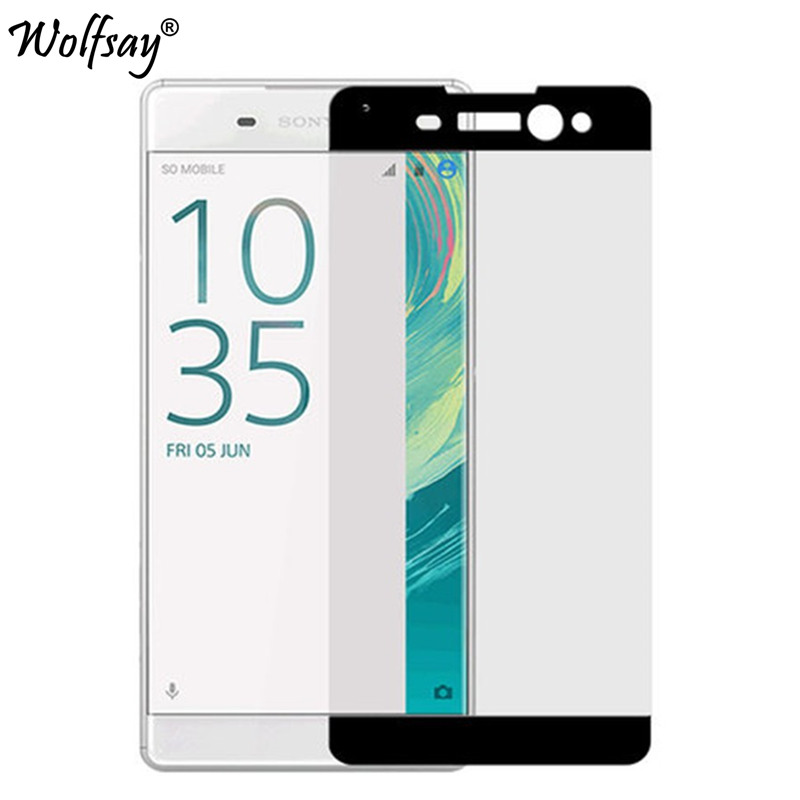 Screen Protector for Sony Xperia XA Ultra Tempered Glass Full Cover Glass sFor Sony Xperia XA Ultra F3212 F3216 Film For Sony C6
