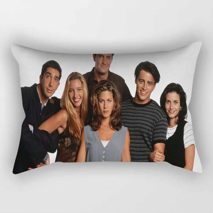 Zengia Teman Acara TV Bantal Penutup 45 Cm X 45 Cm Polyester Teman Sarung Bantal 30X50 Cm Joey Tribbiani kursi Dekorasi Rumah