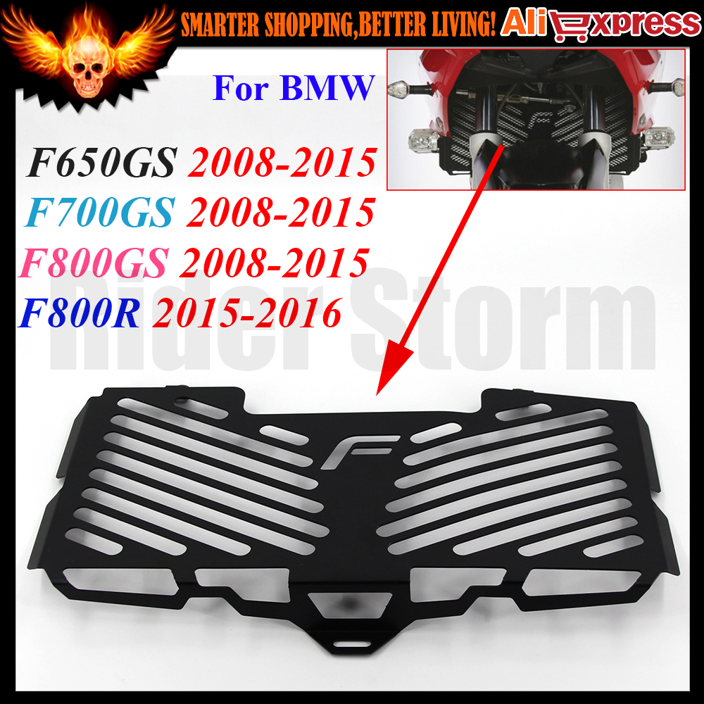 2016 New Motorcycle Radiator Grille Guard Cover Protector For BMW F650GS F700GS F800GS 2008 2009 2010 2011 2012 2013 2014 2015 motorcycle stainless steel radiator guard protector grille grill cover for kawasaki z750 2010 2011 2012 2013 2014 2015 2016