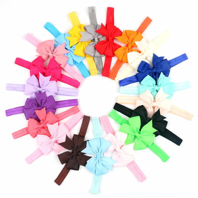 Headwrap เด็ก headbands headwear หญิง bow knot hairband head band ทารกแรกเกิดเด็กวัยหัดเดินของขวัญ tiara อุปกรณ์เสริมผมเสื้อผ้า
