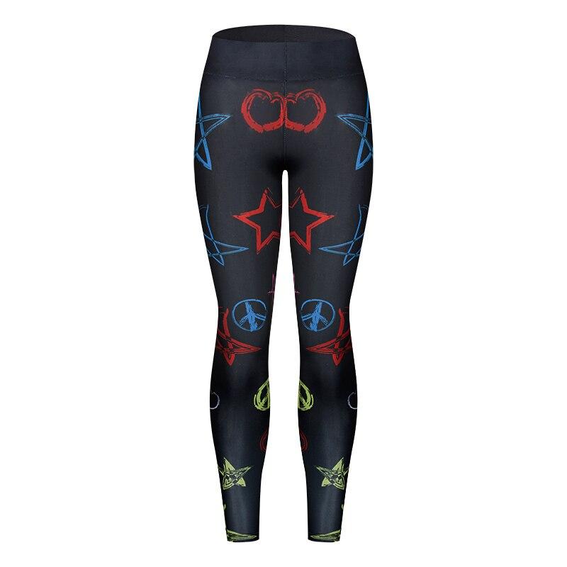2018 New Quick-drying Leggings Fashion Ankle-Length Legging Fitness Black Leggins