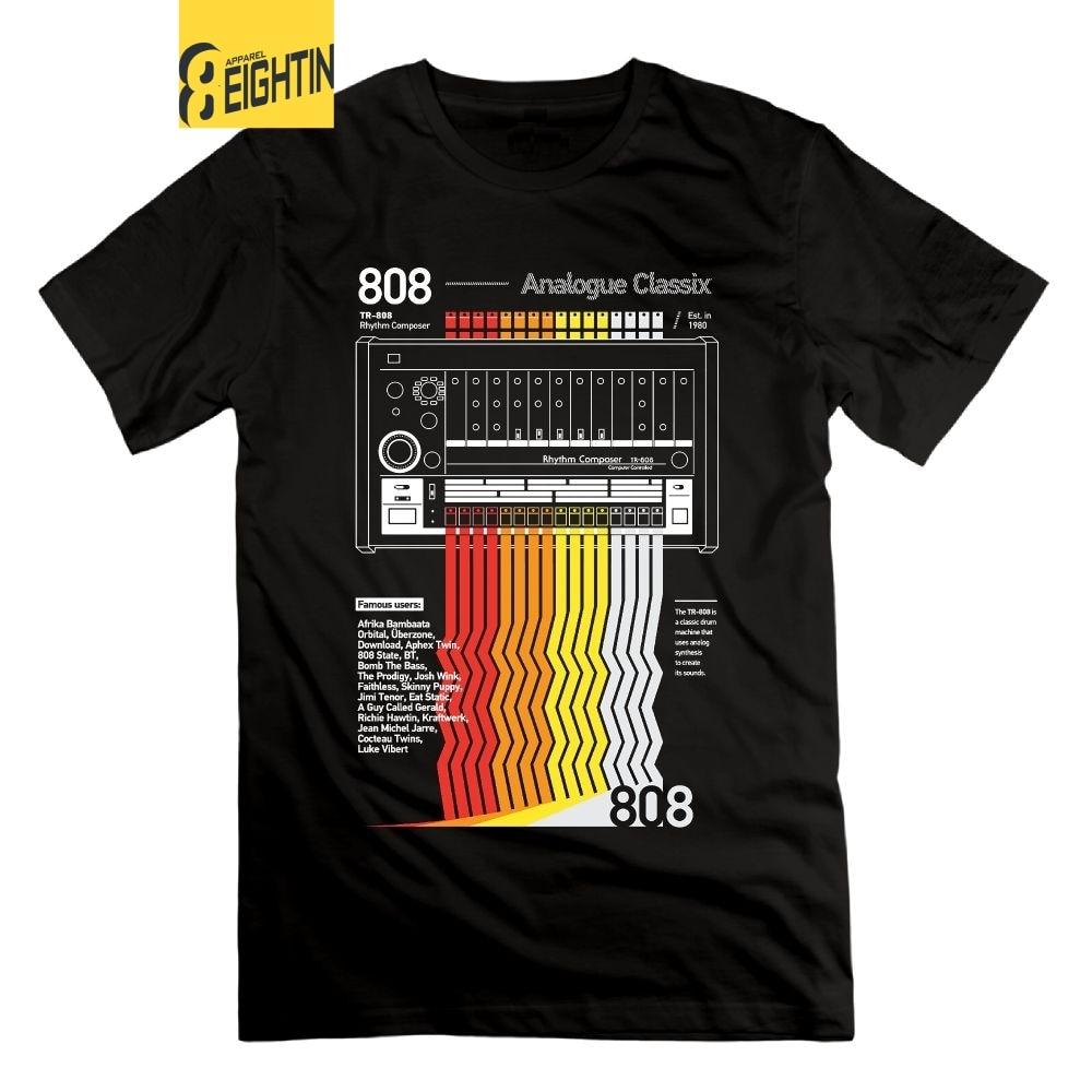 Eightin 808 Classix Vaporwave   T     Shirt   Short Sleeves Round Collar Men Tops Tees 4XL Clothing New Arrival 100% Cotton   T  -  Shirt