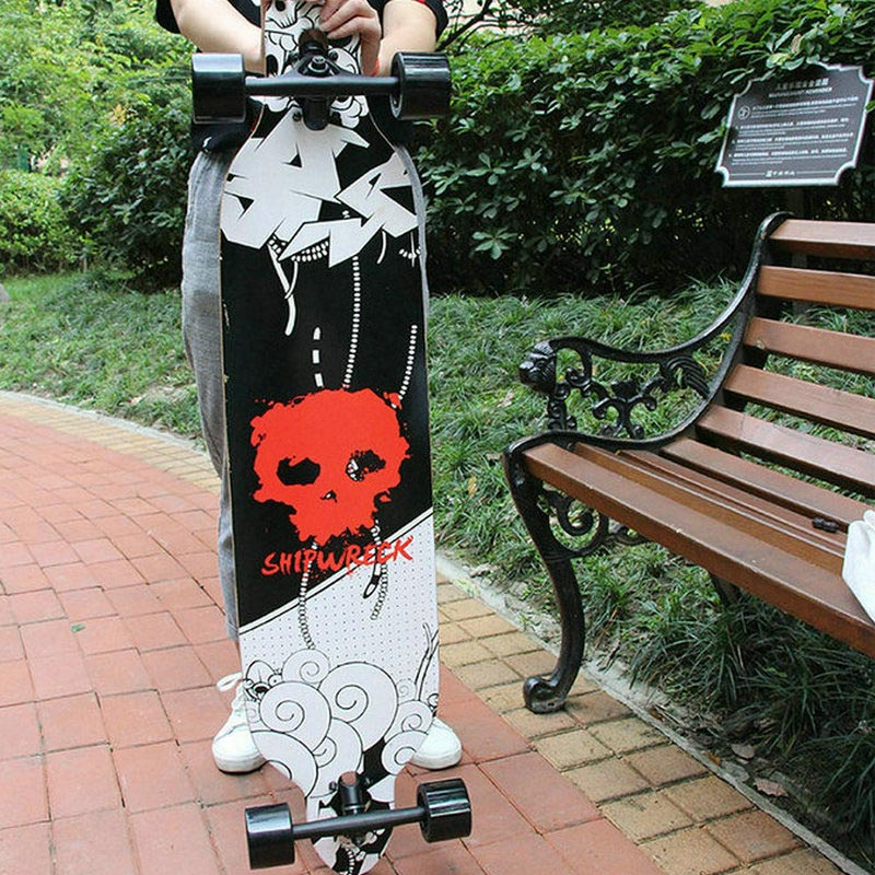 2019 New 104*23cm Long Board Skateboard 7inch Truck 70*51mm 78A Wheels 41inch Dancing Board Longboard Girl Boy Board