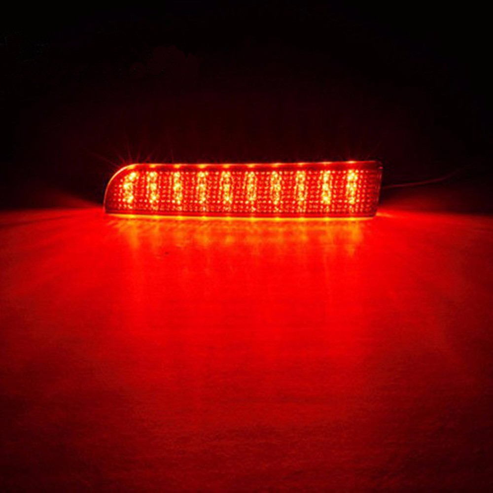 Mitsubishi Lancer  Rear Bumper Reflector Brake Light Lamp-3