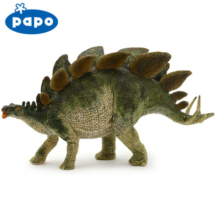 Papo Stegosaurus Simulated Dinosaur Model Museum Collection Jurassic World Ancient Creatures Children's Toys