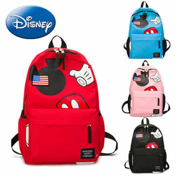 2019 New Minnie Mickey shape Travel Backpack Diaper Bags Canvas Mommy Maternity Nappy Bag Baby Mom Storage Hanging Mummy Bag - DISCOUNT ITEM  23% OFF All Category