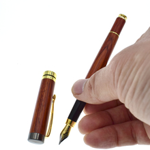 High Quality Caligraphy Pen for Writing Vintage Wood Fountain 0.5 mm nib School Office Supplies Drop shipping Joy Corner