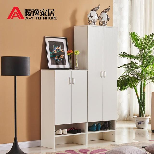 Beau Custom Furniture Hall Cabinet Shoe Combination Of High And Low Open  Corridor Ms. Shoe Storage