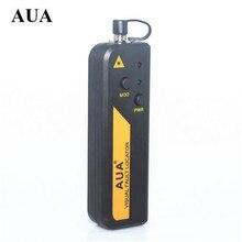 AUA мини 10 МВт Волоконно-оптический лазерный Визуальный дефектоскоп, тестер волоконно-оптического кабеля 10 км