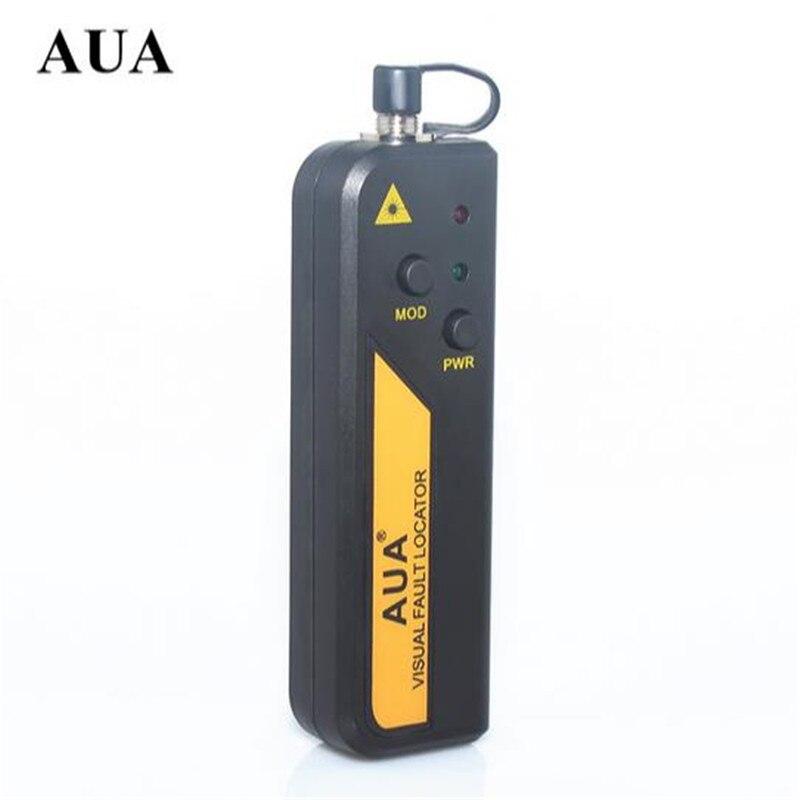 Freies verschiffen AUA Mini 10 mw Glasfaser Laser Visual Fault Locator, Glasfaserkabel Tester 10 KM