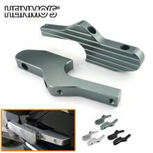 For Vespa GTS 300 Accessories Footrest Extender Scooter Piaggio GT GTV Sprint LX ET4 ET2 125 200 250
