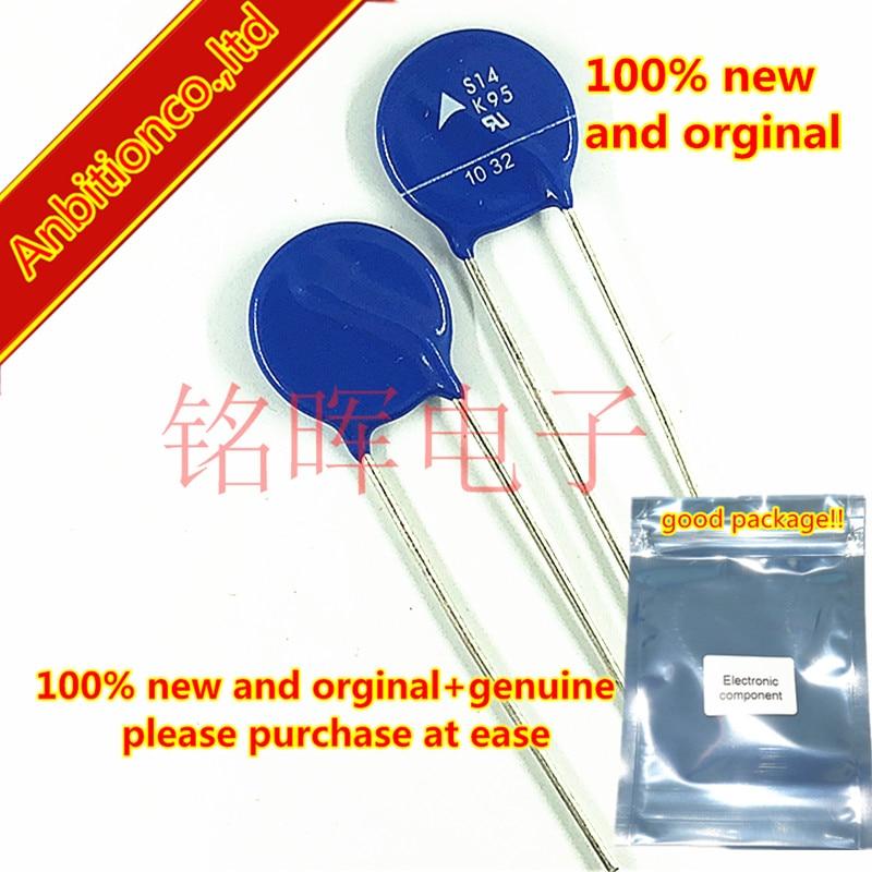 10-20pcs 100% New And Orginal B72214S950K101 S14K95 Plug-in Varistor 95V 4500A 14MM == In Stock