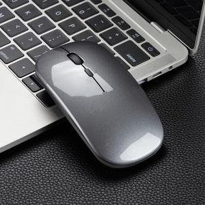 Image 5 - M80 souris sans fil rechargeable muet 2.4G souris de bureau 500 mAh batterie intégrée 6 couleurs application de bureau pour ordinateur portable
