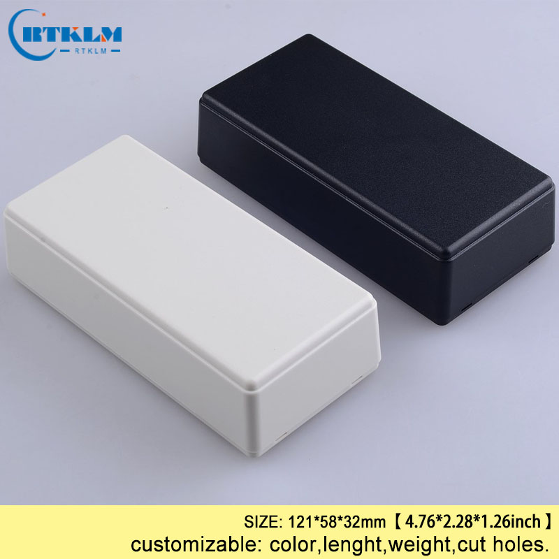 Small Plastic Box Diy Plastic Electronic Box Abs Junction Box Custom Speaker Enclosure Electric Distribution Box 121*58*32mm