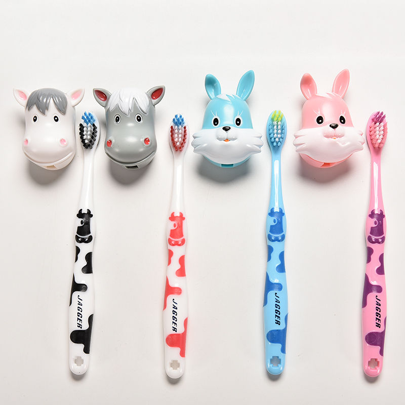 1 Pcs Lovely Cartoon Cows Rabbit Children\'S Child Toothbrush Kid Toothbrush For Little Boy Girl Tooth Brush Toddler Teethbrush