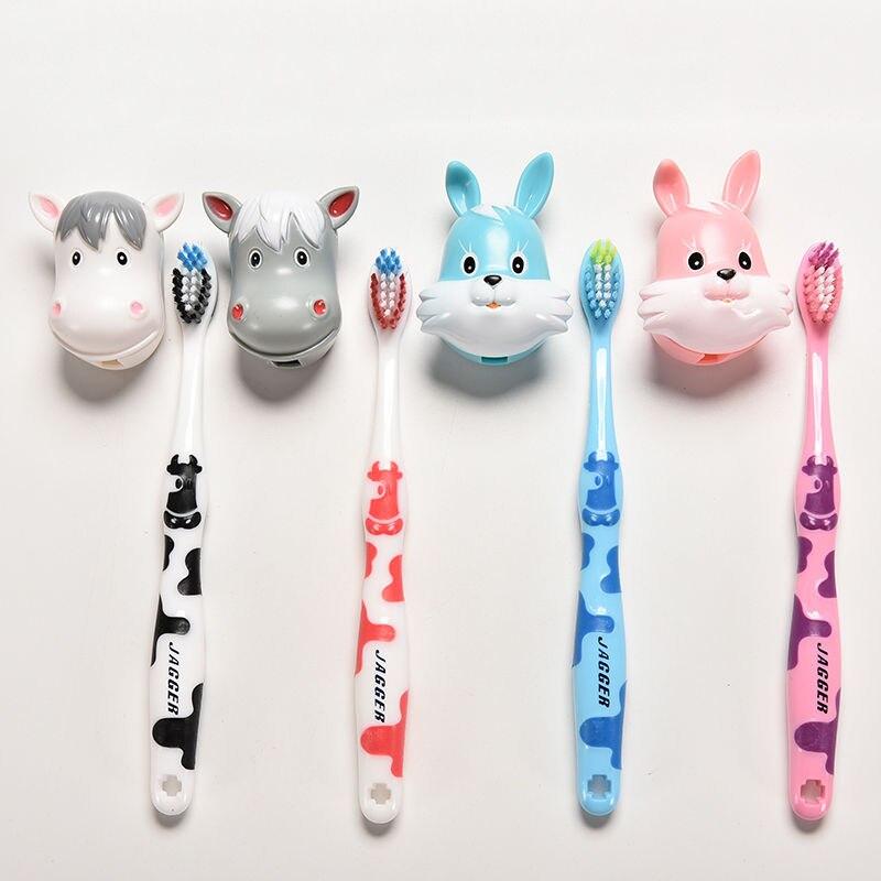 1 Pcs Lovely Cartoon Cows Rabbit Children\'S Child Toothbrush Kid Toothbrush For Little Boy Girl Tooth Brush Toddler Teethbrush