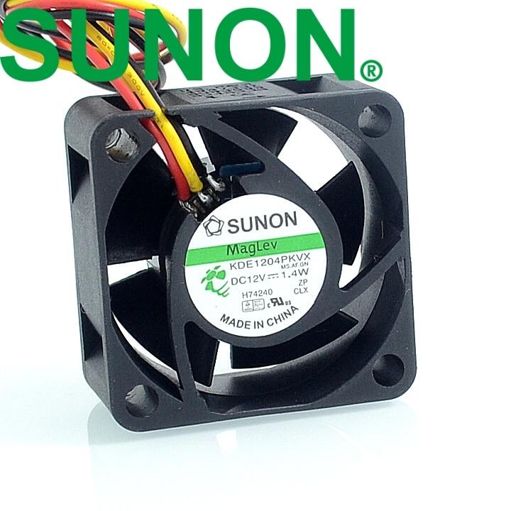 40 40 20mm 3 wire 4020 4 cm silent fan 1 4W KDE1204PKVX cooling fan