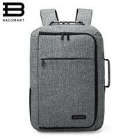 BAGSMART New Men Laptop Backpack Bolsa Mochila For 15 6 Inch Notebook Computer Rucksack School Bag