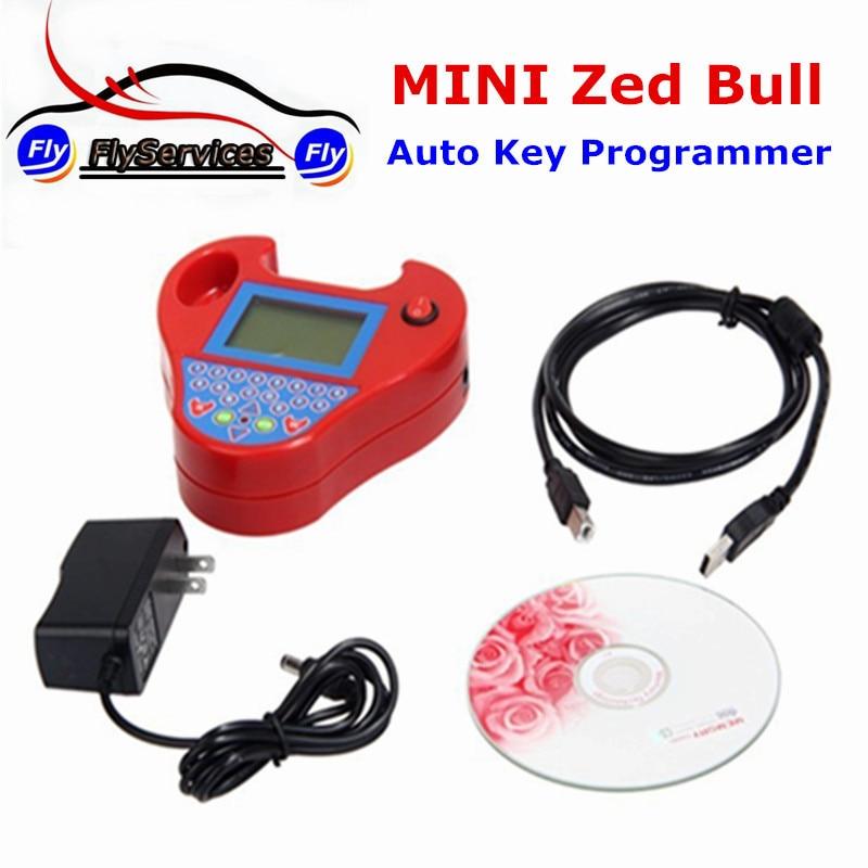 Цена за 2017 Высокое Качество Мини Zed-bull Смарт Zedbull Ключ Транспондера Программист МИНИ ЗЕД BULL ключевые Программиста