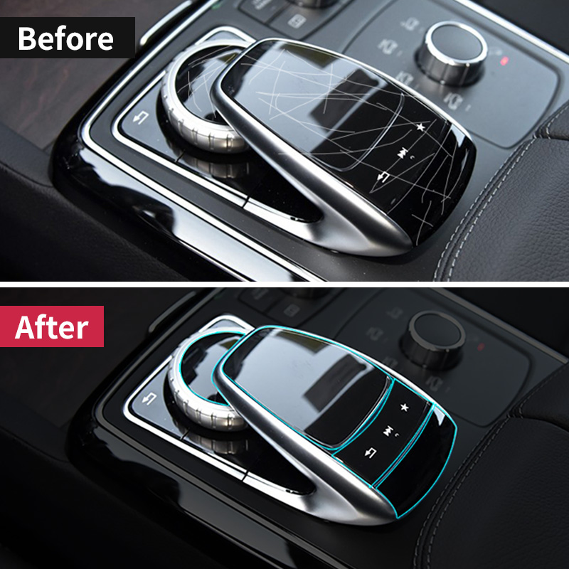 For Mercedes Benz Center Console Mouse Touch Protective Film Fit For Mercedes Benz C/E/S/V/GLC/GLE Class