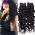 Malaysian Virgin Hair Water Wave 4 Bundles Wet and Wavy Virgin Malaysian Human Hair Weave GEM Ali Moda Malaysian Water Wave Hair