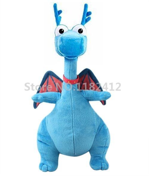 doc mcstuffins plush toy stuffy blue dragon stuffed animals 36cm kids toys for children. Black Bedroom Furniture Sets. Home Design Ideas