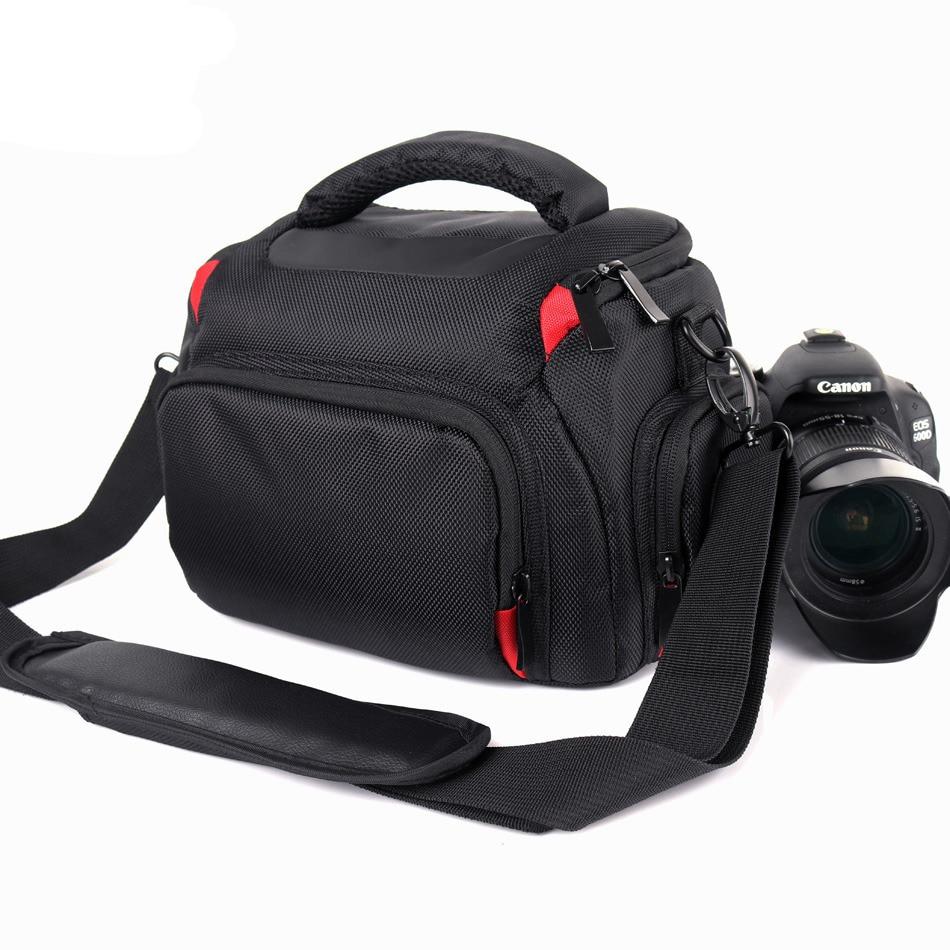 High Capacity Camera Bag Case For Sony alpha A7 II III A6000 A77 A7R II III A7SII A7 A9 A7M2 A7M3 A58 Nikon Camera Canon Case 6D