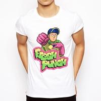 2018 summer T-shirt One Punch Man Hero Saitama Oppai anime men's T-shirts hot t shirt men kpop brand clothing top