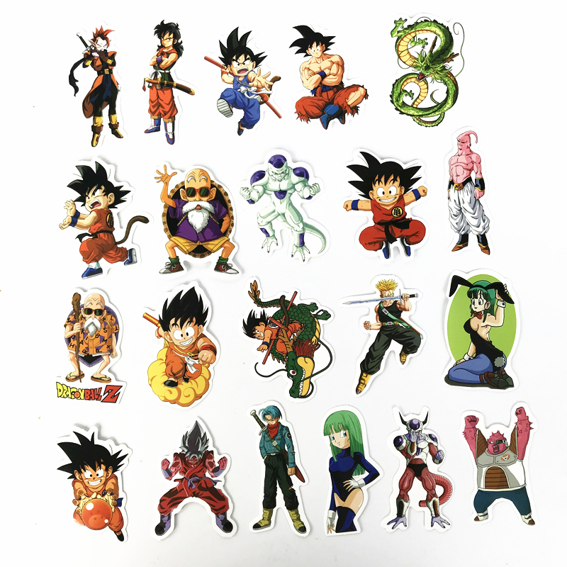 TD-ZW-100-Pcs-Not-Repeat-Dragon-Ball-Anime-Sticker-For-Car-Laptop-Skateboard-Pad-Bicycle (2)