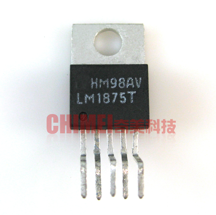10PCS <font><b>LM1875T</b></font> <font><b>TO220</b></font>-5 LM1875 <font><b>TO220</b></font> 20W Audio Power Amplifier new and original image