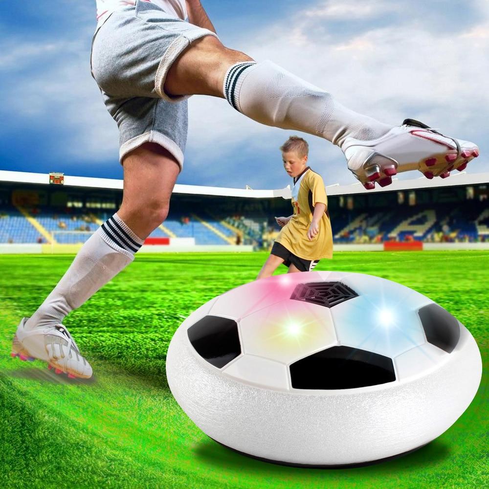 Toy Balls Hover Ball Football Air Football Toy Funny LED Light Flashing Ball Colorful Disc Indoor Football Toys For Boys недорго, оригинальная цена