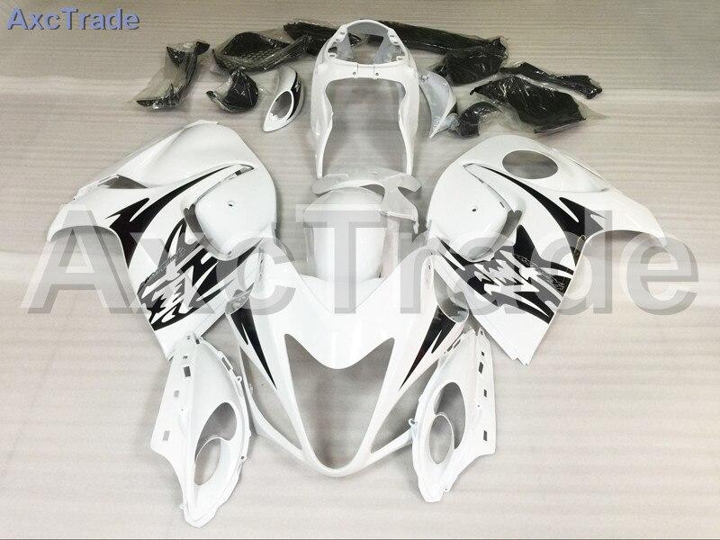 Motorcycle Fairings Kits For Suzuki GSXR GSX-R 1300 GSXR1300 2008-2015 08 - 15 Hayabusa ABS Plastic Injection Fairing Kit Whtie custom road fairing kits for suzuki glossy flat black 2006 gsxr 1000 k5 2005 gsx r1000 06 05 motorcycle fairings kit