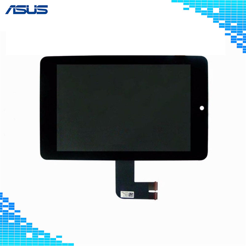 Asus ME173X Original Black LCD Display Touch Screen Assembly Replacement Parts For Asus MeMO Pad HD 7 ME173X LCD screen 7 inch for asus memopad hd7 me173 me173x k00b innolux version lcd display touch screen digitizer assembly