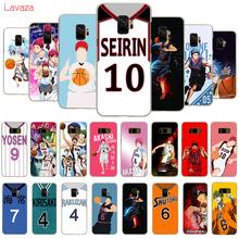 Lavaza Anime Kuroko no Basket Hard Phone Cover for Samsung Galaxy S8 S9 S10 Plus A50 A70 A6 A8 A9 2018 Case
