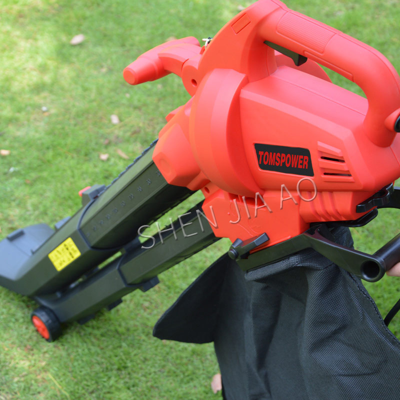 2800W Electric Blow / Suction Leaf Machine / Hair Dryer Leaf Suction Machine 220V Leaf Crusher Electric Leaf Cleaning Machine-in Leaf Blowers & Vacuums from Tools    3