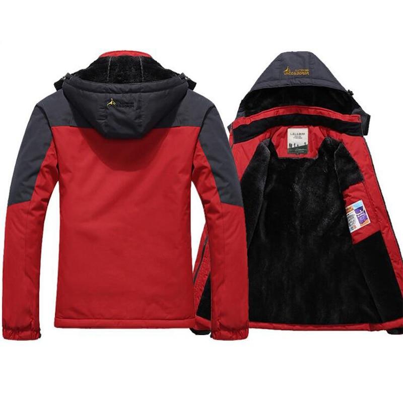 Winter Parka Men Windbreak Plus Velvet Thick Warm Windproof Fur Coats Male Military Hooded Anorak Jackets Men's Winter Jackets 4