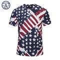 3D Impresso Camisetas Homens/Mulheres Tops Tees Kanye West Rappers Bandeiras Teste Padrão de Estrelas do Hip Hop Camisa Masculina Hombre Casuais vindima