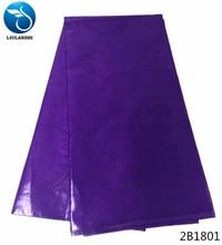 LIULANZHI african bazin riche getzner fabrc guinea brocade fabric 5yards high quality purple for party 2B18