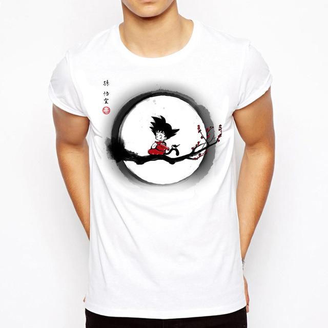 Camiseta con estampado de Dragon Ball