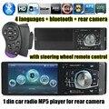1 din carro HD MP5 player de rádio Auto raido Bluetooth da sustentação/câmera de Visão Traseira/AUX IN/TF frete grátis