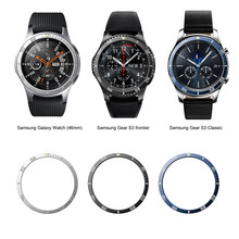 For Samsung Galaxy Watch 46MM Bezel Ring Adhesive Cover Anti Scratch Luminous