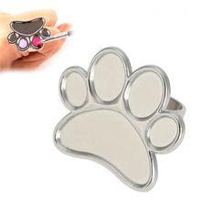 1 шт Милая миниатюрная палитра цветов для дизайна ногтей пластина