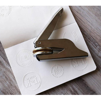 Customized Library Book Invitation Embosser Stamp Embossing Stamp Notary Seal Stamp for Personalized Motto Stamp Make Your Logo