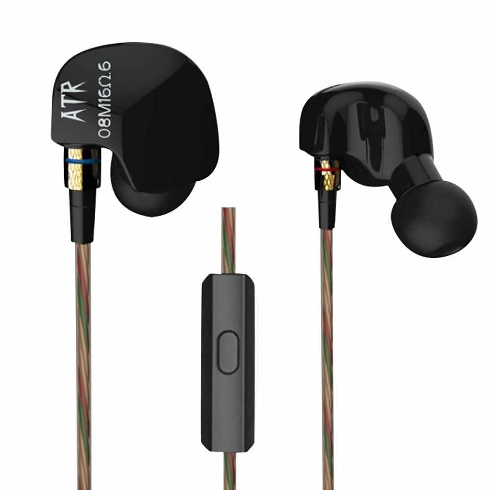 KZ ATR dynamiczne słuchawki Stereo Bass HIFI zestaw słuchawkowy bez mikrofonu/z MIC słuchawki auriculares oordopjes Dropshipping