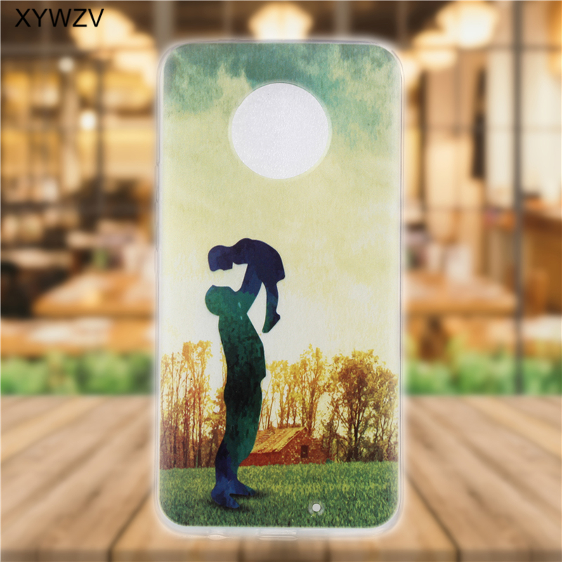 Image 5 - sFor Moto X4 Case Soft Silicone Pattern Phone Case For Motorola Moto X4 Back Cover For Motorola Moto X4 XT1900 Coque Fundas <-in Fitted Cases from Cellphones & Telecommunications