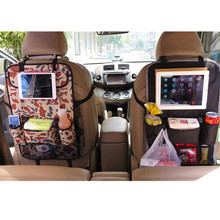 Multi-functional Waterproof Encryption Polyester Oxford Car Seat Storage Hanging Sundries PAD Phone Bottle Paper pocket backpack