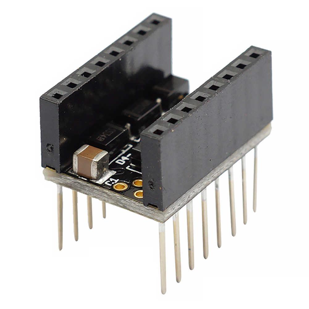 Filter 3D Printer Printer Stepper Bisu Modul Stepstick Halus Pelindung Stepstick Bisu untuk TMC2100 A4988 Drv8825